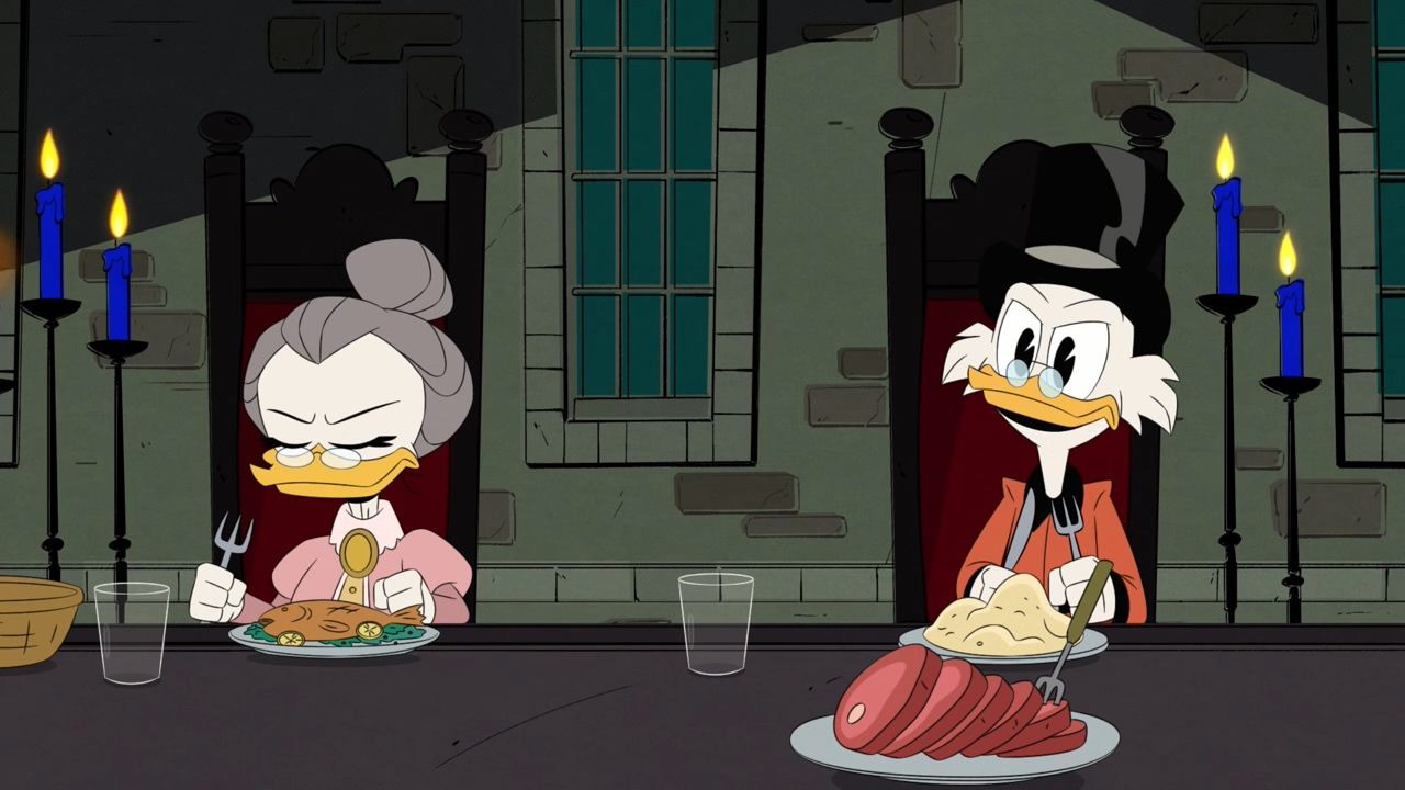 Утиные истории — s03e17 — The Fight for Castle McDuck!