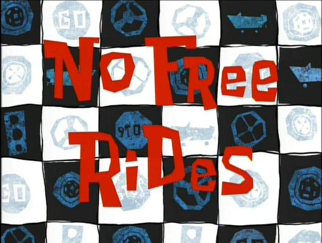 SpongeBob SquarePants — s02e18 — No Free Rides