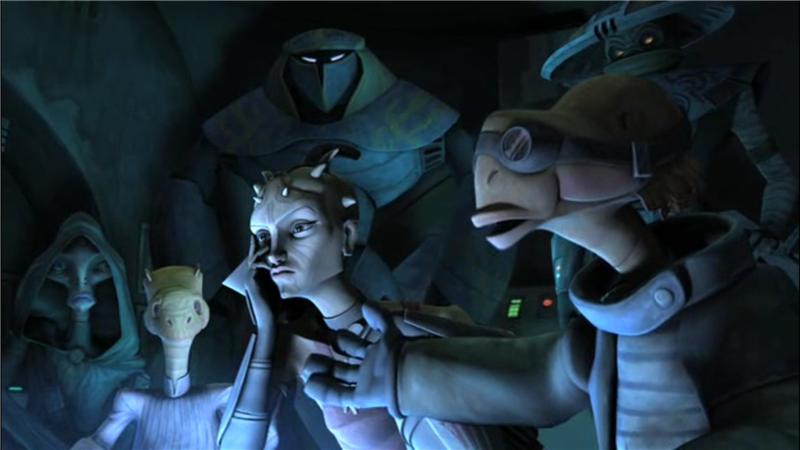 Star Wars: The Clone Wars — s02e17 — Bounty Hunters