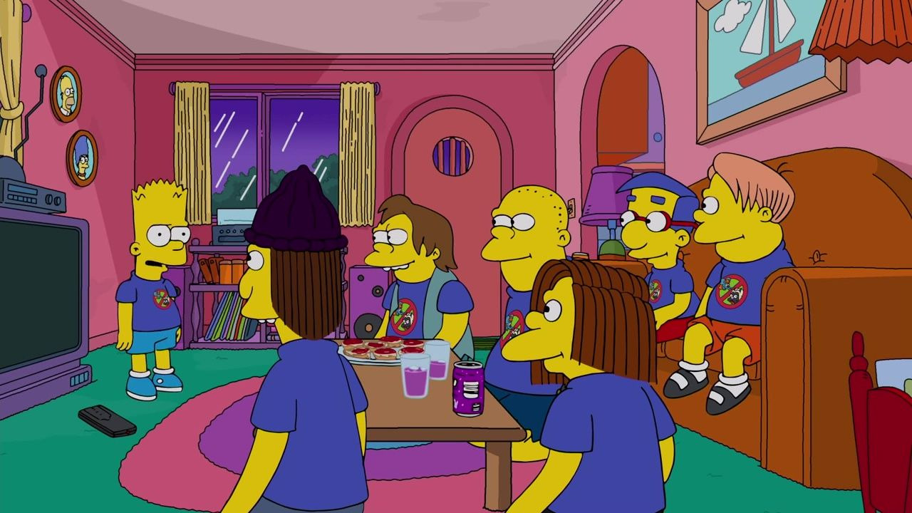 The Simpsons — s30e18 — Bart vs. Itchy & Scratchy