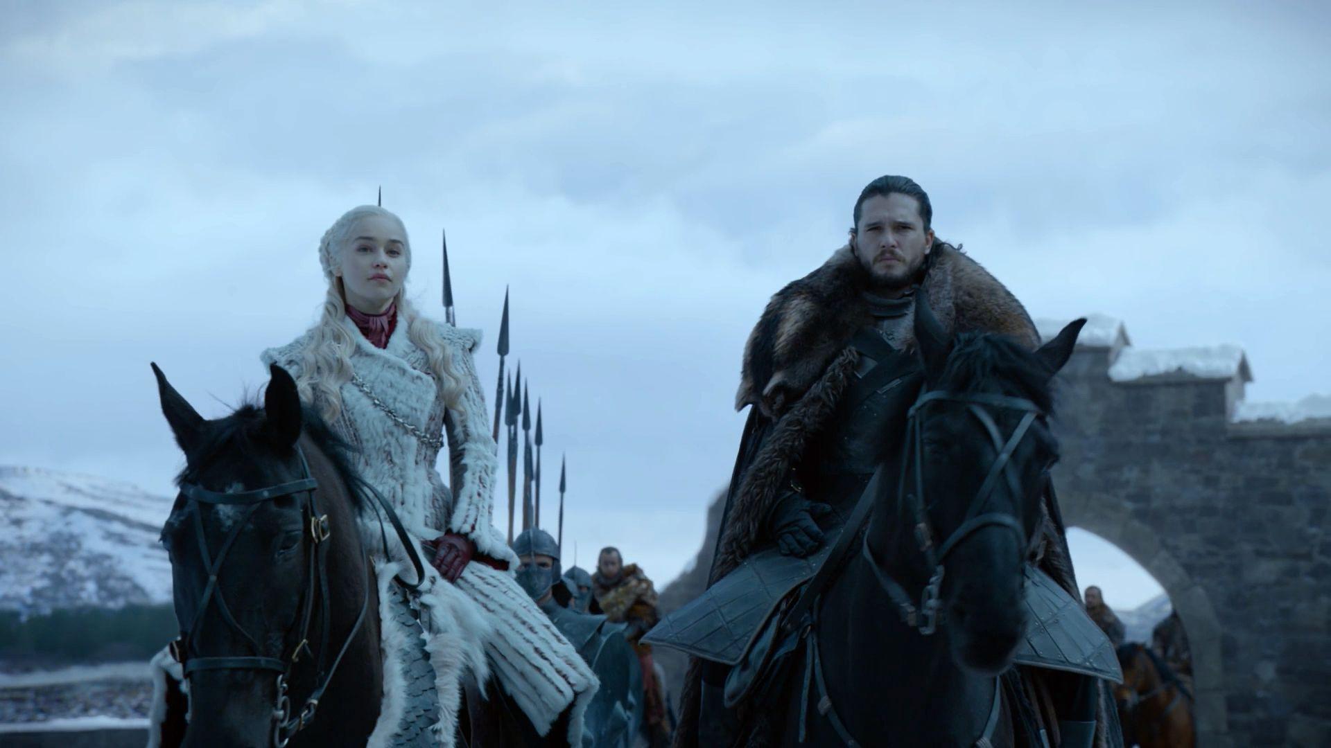 Игра престолов — s08e01 — Winterfell