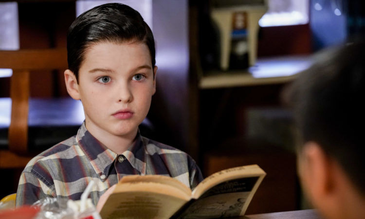 Young Sheldon — s02e11 — A Race of Superhumans and a Letter to Alf