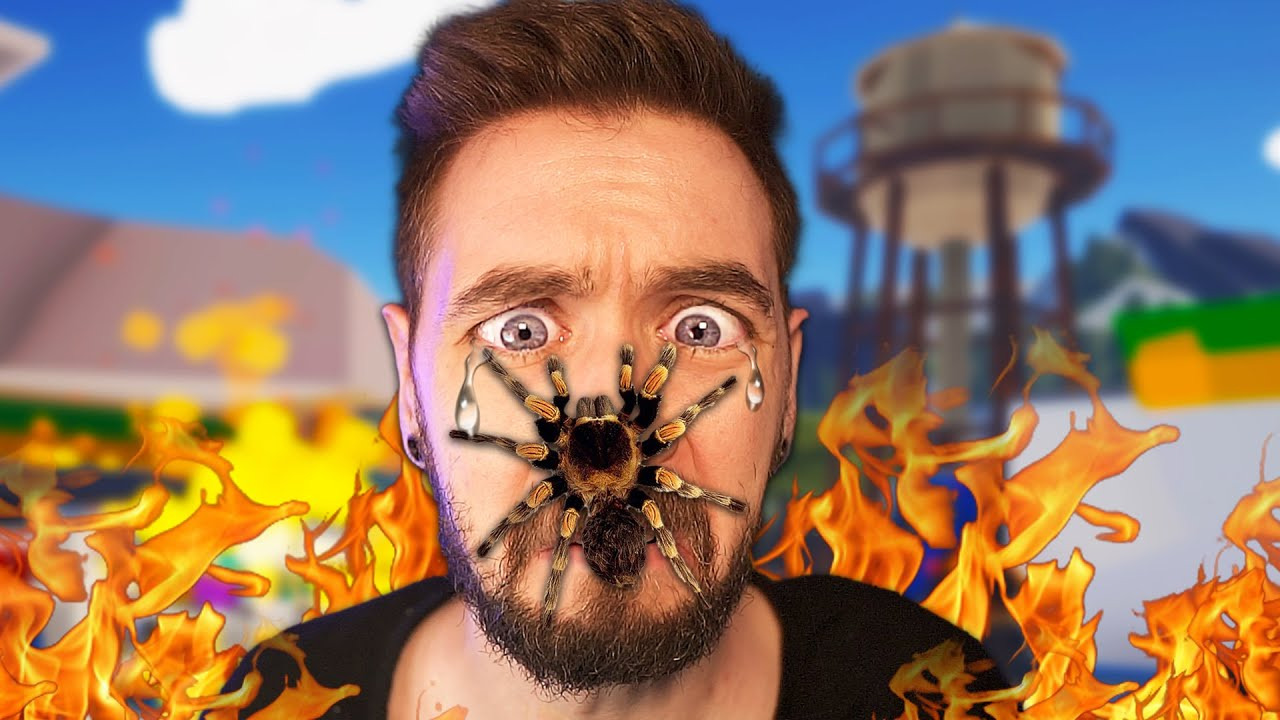 Jacksepticeye — s10e42 — Don't watch this video if you hate spiders!