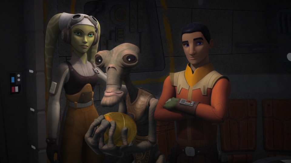 Star Wars Rebels — s03e13 — Ghosts of Geonosis, part 2