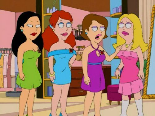 American Dad! — s01e16 — Not Particularly Desperate Housewives