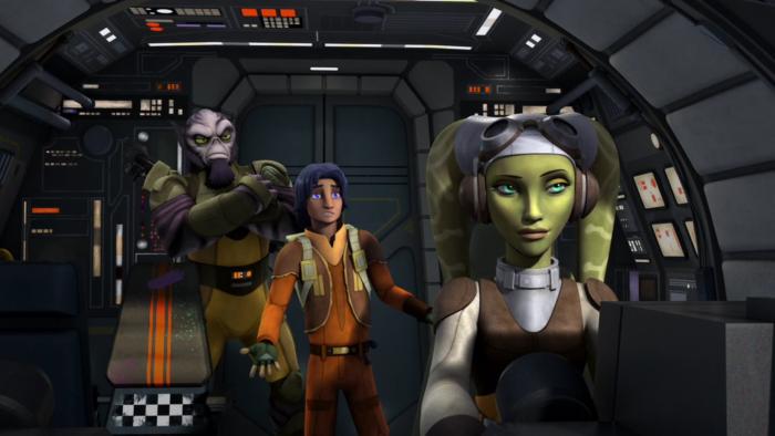 Звездные войны: Повстанцы — s01e01 — Spark of Rebellion part 1