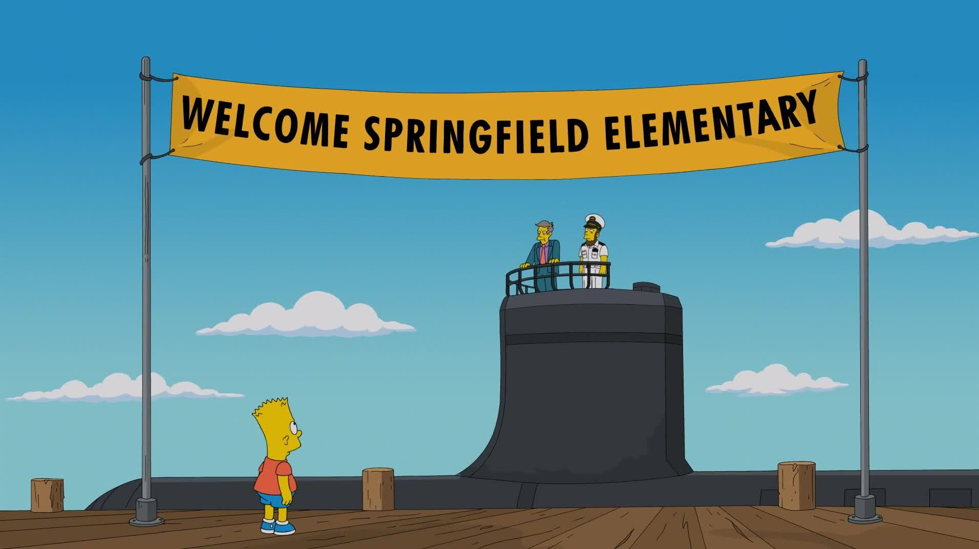 The Simpsons — s25e07 — Yellow Subterfuge