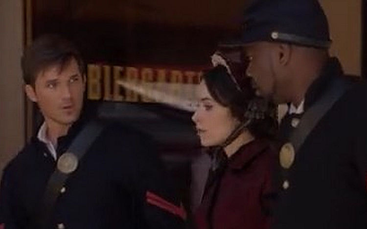 Timeless — s01e02 — The Assassination of Abraham Lincoln