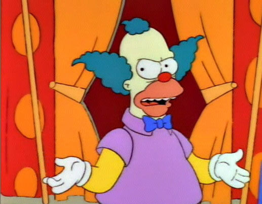 The Simpsons — s04e22 — Krusty Gets Kancelled