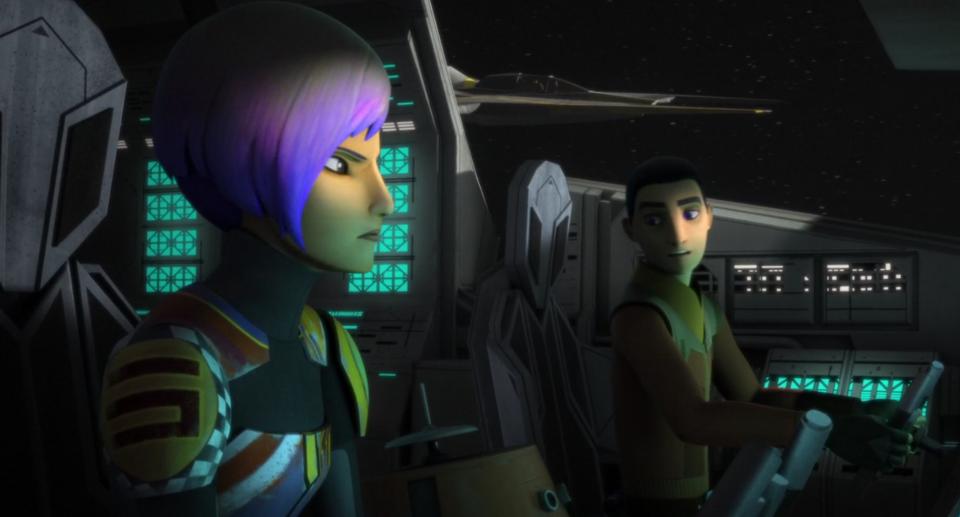 Звездные войны: Повстанцы — s03e22 — Zero Hour, part 2