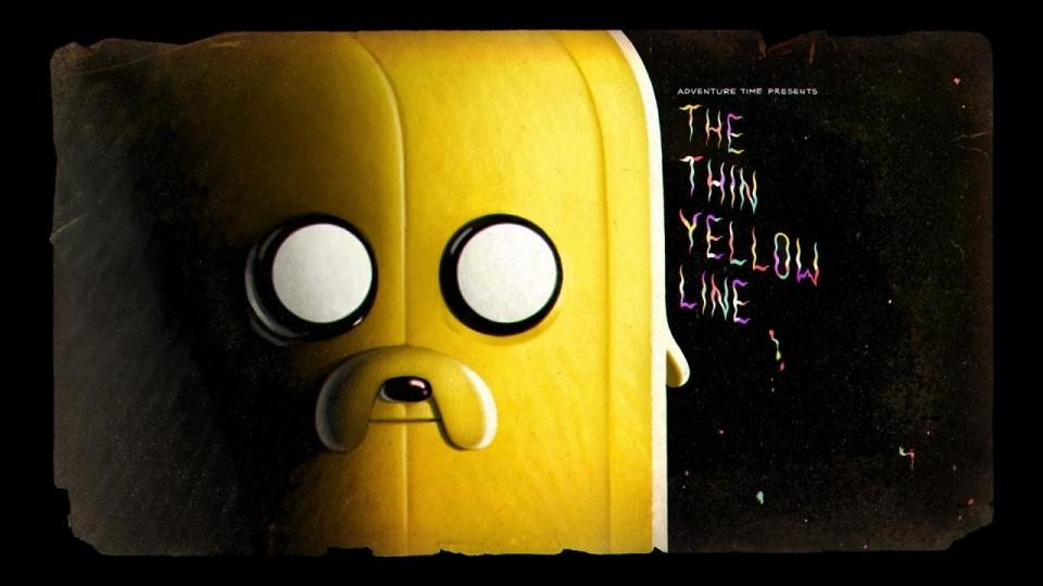 Время приключений — s07e25 — The Thin Yellow Line