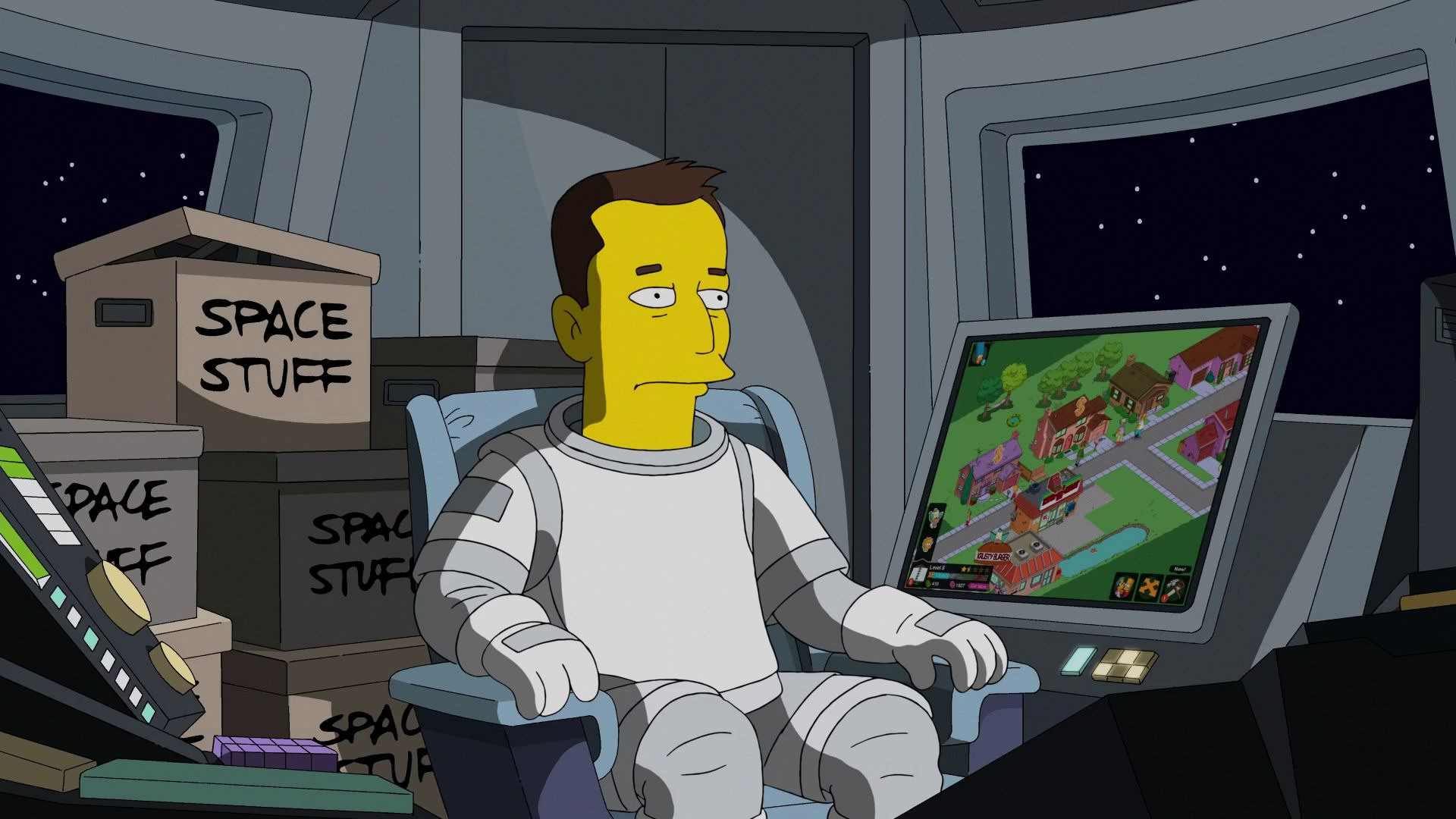 The Simpsons — s26e12 — The Musk Who Fell to Earth