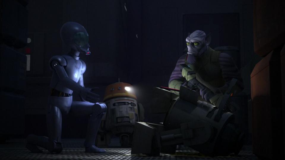 Star Wars Rebels — s03e14 — Warhead