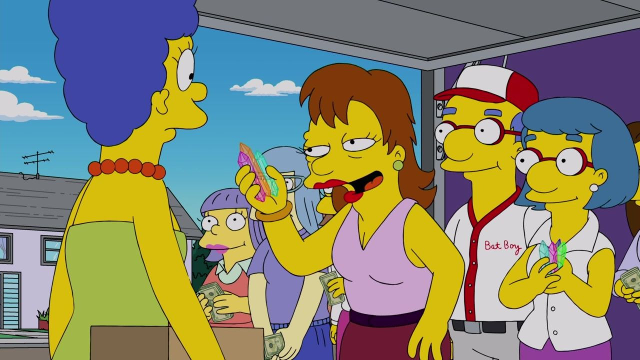The Simpsons — s30e23 — Crystal Blue-Haired Persuasion