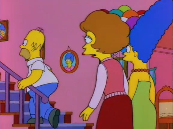 The Simpsons — s06e13 — And Maggie Makes Three