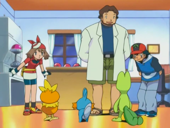 s06e01 — Get the Show on the Road! (Pokemon Advanced)