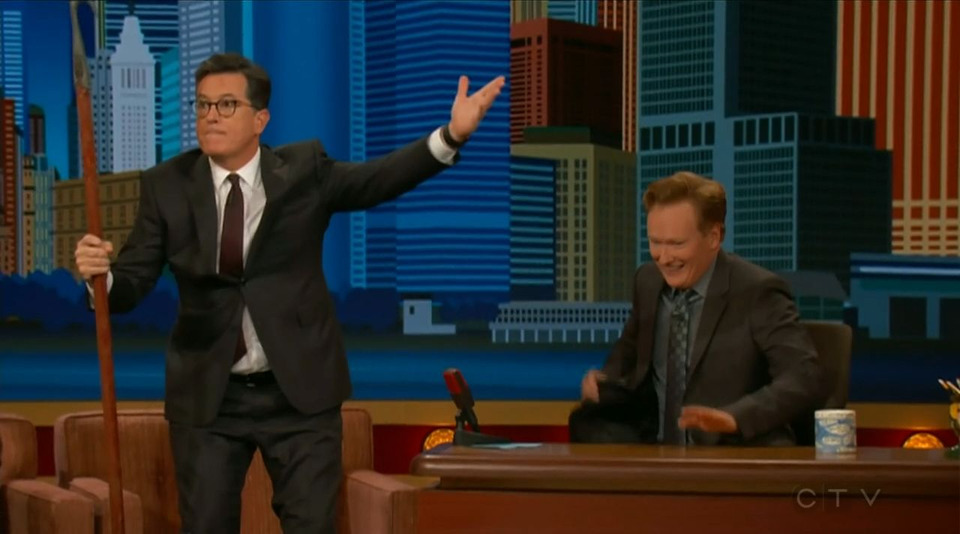 s2017e123 — Stephen Colbert, Rod Man