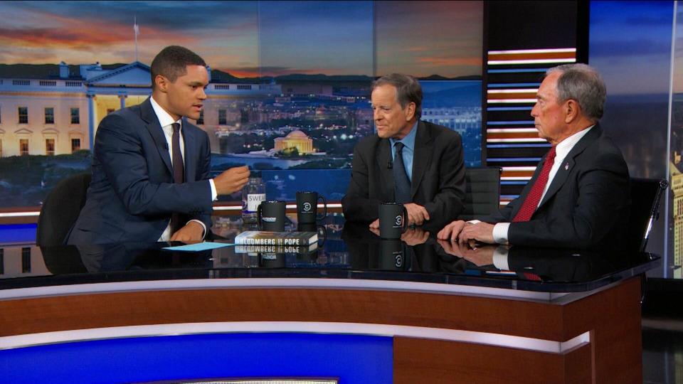 s2017e61 — Michael Bloomberg, Carl Pope & Sanaa Lathan