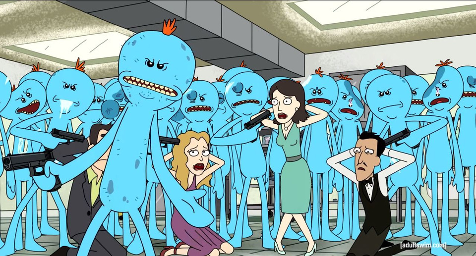 s01e05 — Meeseeks and Destroy