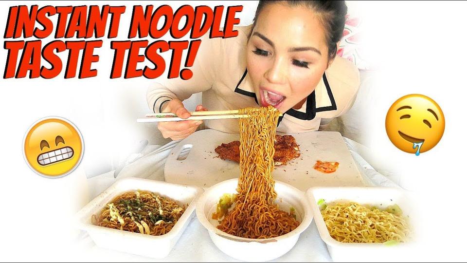 s04e51 — Simple Chicken Katsu Recipe & Noodles 먹방 Mukbang | Eating Show