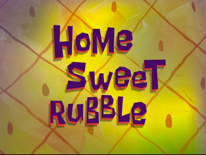 s08e33 — Home Sweet Rubble