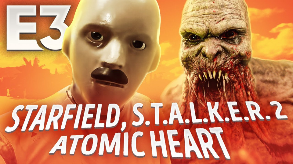 s07e110 — Bethesda иXbox наE3, геймплей STALKER 2 иBattlefield 2042, шоу Square Enix, PC Gaming Show…