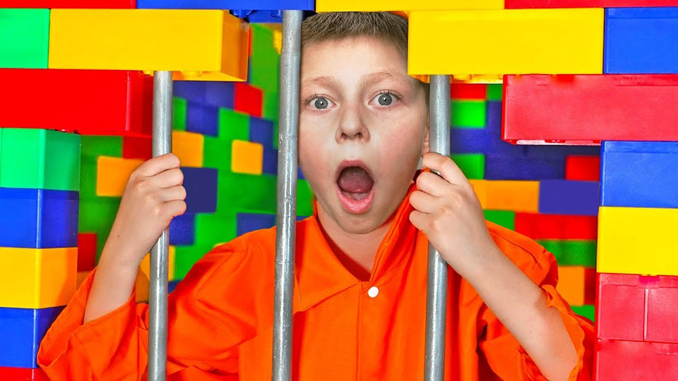 s07e145 — ЯПосадил Своего Младшего Брата вЛЕГО Тюрьму на24 Часа!