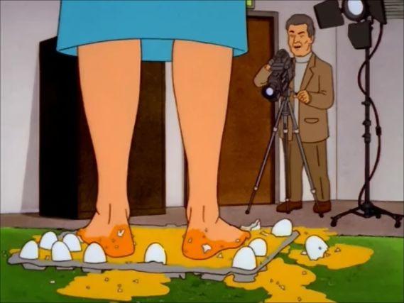 s04e23 — Transnational Amusements Presents: Peggy's Magic Sex Feet