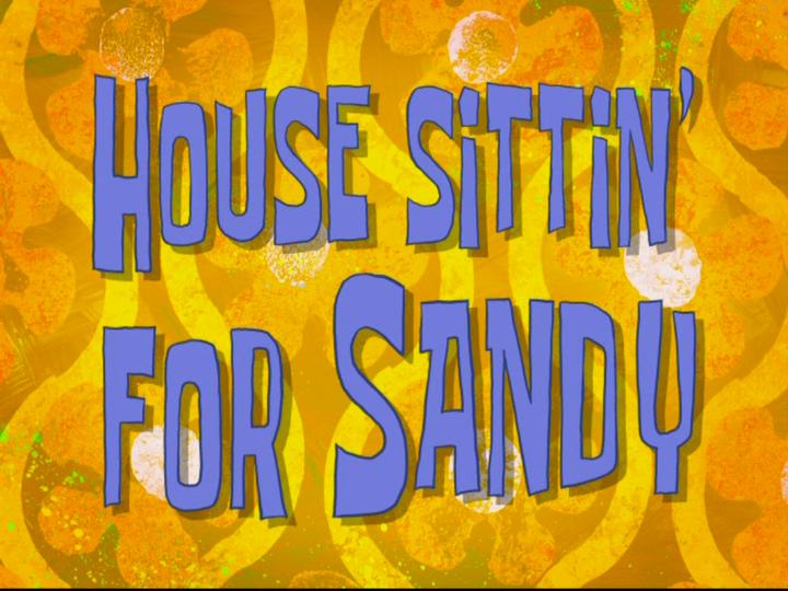 s08e22 — House Sittin' for Sandy