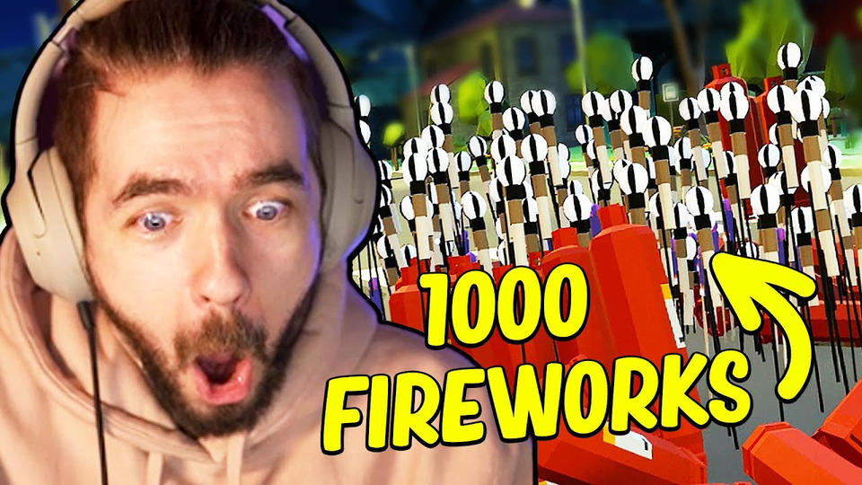 s10e35 — I Set Off 1,000 Fireworks And Broke Reality in Fireworks Mania