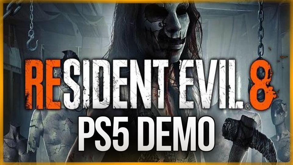 s11e33 — НОВЫЙ РЕЗИК НАPS5 ● Resident Evil 8: Village Demo