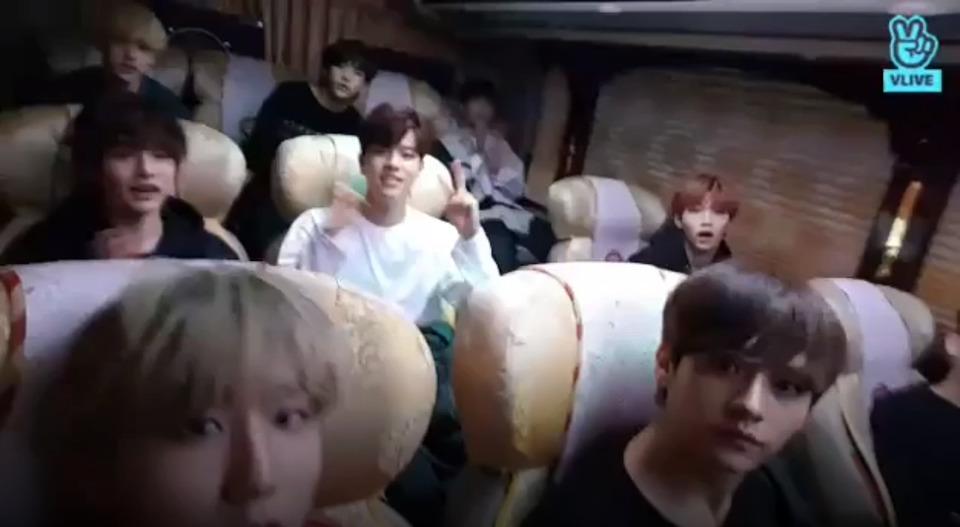 s2018e206 — [Live] On the way back~♡ 2