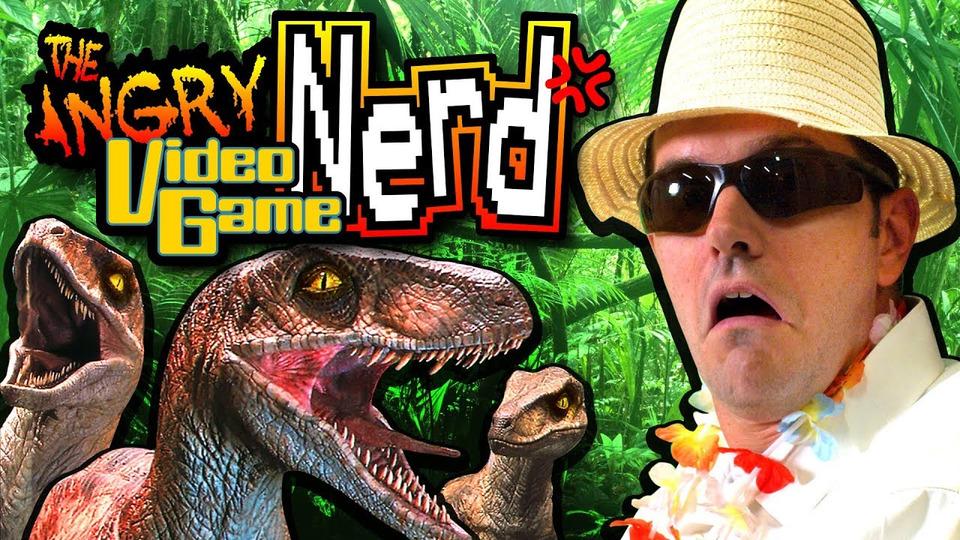 s13e08 — Jurassic Park: Trespasser (PC)
