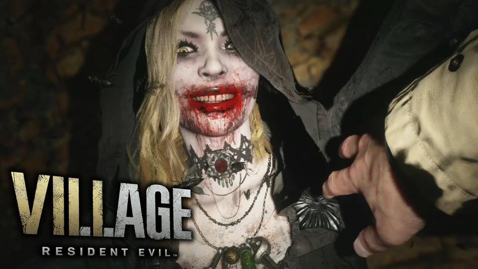 s11e151 — Resident Evil 8: Village (Demo 3)— ЗАМОК ДИМИТРЕСКУ (PS5)