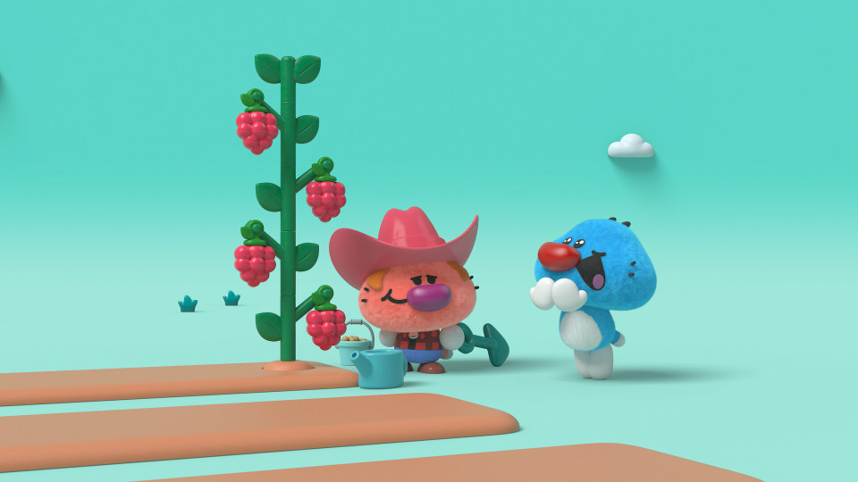 s01e13 — Sloshy / Scaredy-cat / The Farmer's Apprentice