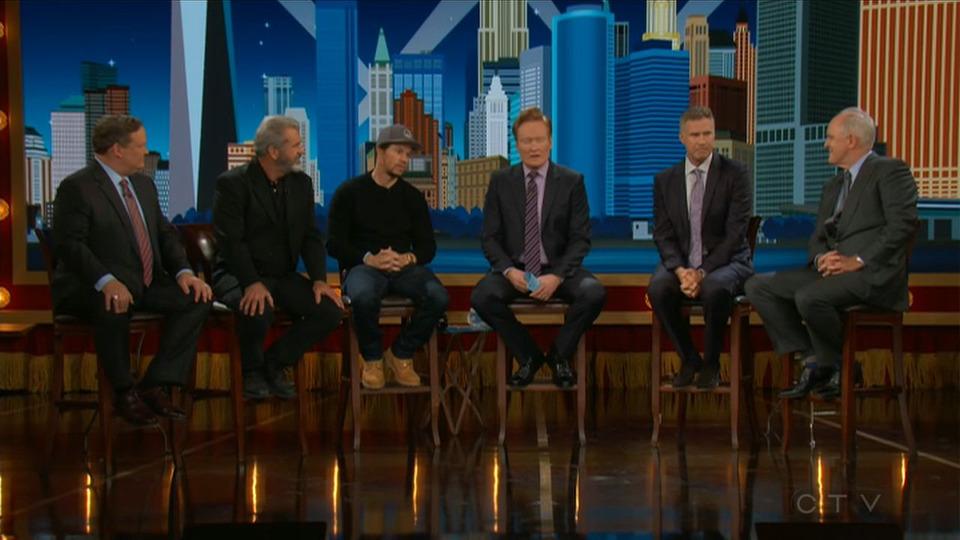 s2017e126 — Will Ferrell, Mark Wahlberg, Mel Gibson, John Lithgow, Jon Dore