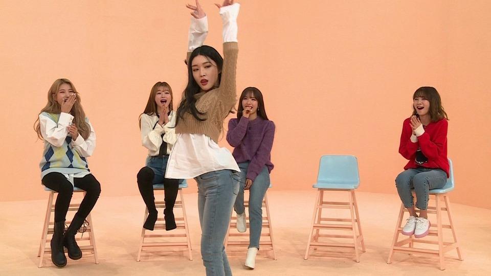 s02e01 — Sowon (GFriend), YooA (Oh My Girl), Bona (Cosmic Girls), Ahn Ji-young (Bolbbalgan4) and Chungha