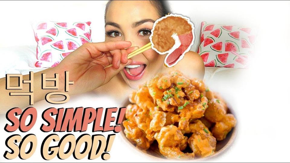 s04e50 — Easy Bang Bang Shrimp Recipe Mukbang | Eating Show