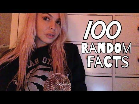 s01e21 — 100 RANDOM COOL FACTS || ASMR Whispered