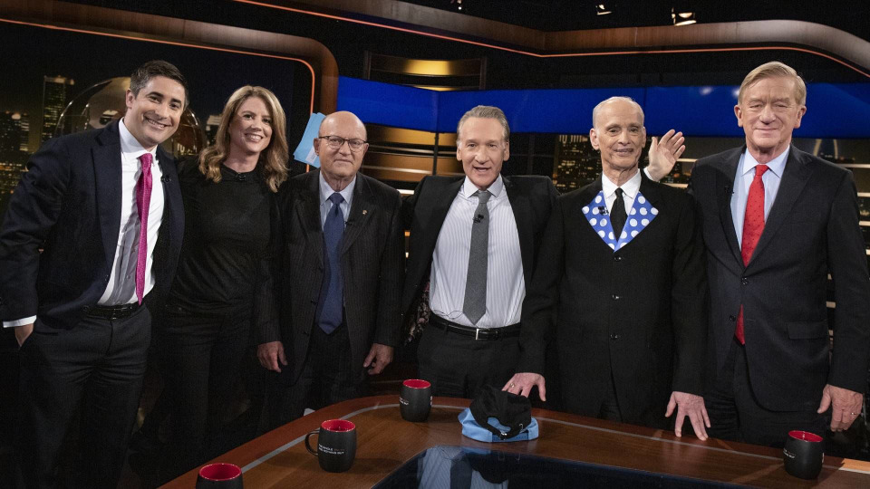 s17e17 — William Weld; Kirsten Powers, Jonathan Swan And Lawrence Wilkerson; John Waters