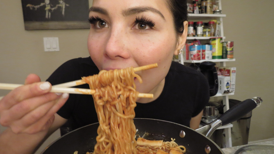 s04e01 — Spicy Cheesy Noodles | ASMR Whispering