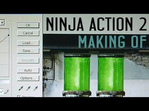 s04e01 — Создание фона лаборатории для Ninja Action 2