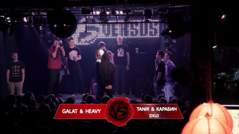 s01e20 — VERSUS #20: GALAT & HEAVY VS TANIR & КАРАБИН [DGJ]