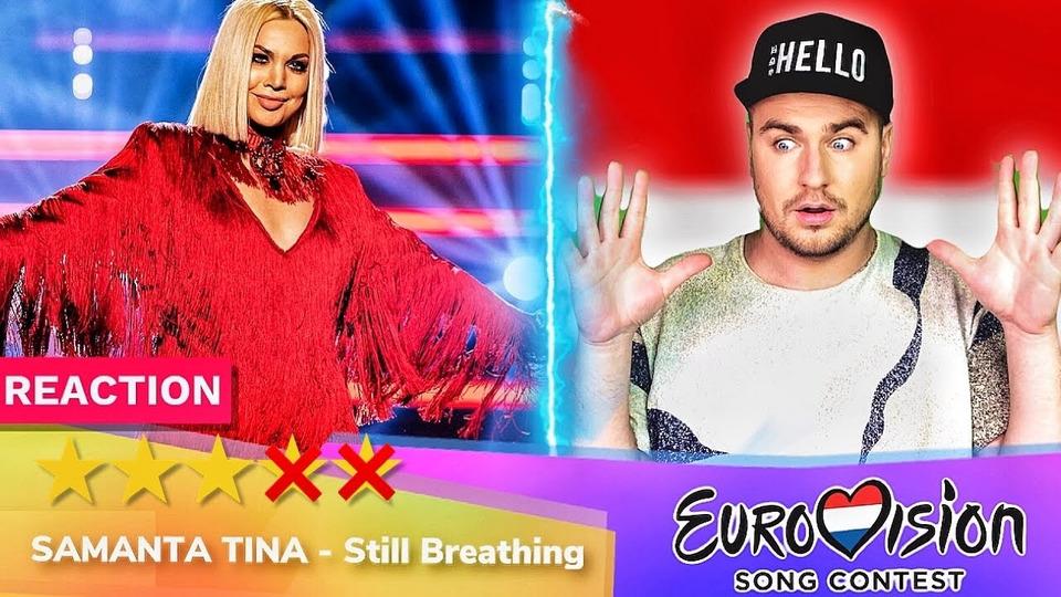 s04e27 — Samanta Tīna— Still Breathing— РЕАКЦИЯ (Латвия Евровидение 2020 Eurovision Latvia)