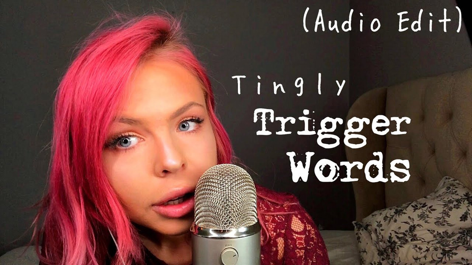 s02e20 — ASMR— MOST TINGLY Trigger Words— Semi Inaudible, Extreme Gentle Whispering (Audio Sound Edit)