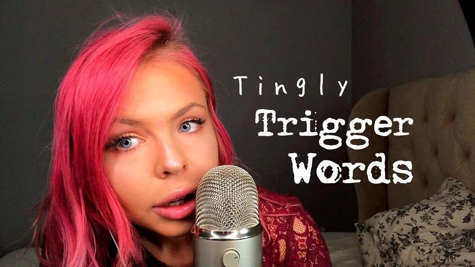s02e19 — ASMR MOST TINGLY Trigger Words— Semi Inaudible