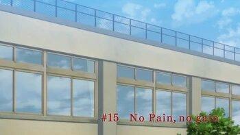 s01e15 — No Pain, no gain
