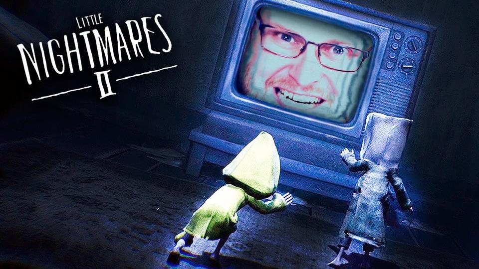 s74e05 — Little Nightmares 2 #5 ► СЕКРЕТ ТЕЛЕВИЗОРА