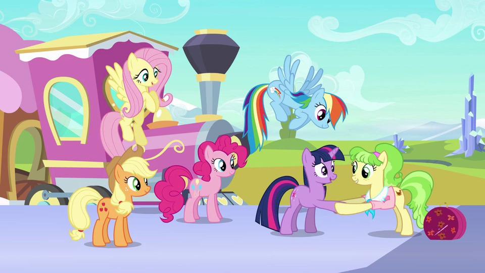 Открытка мои маленькие пони играть онлайн, днем рождения