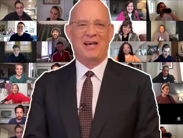s45e16 — SNL at Home: Tom Hanks / Chris Martin